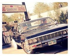 67 impala with Jensen and Jared in it... Just made my day :)