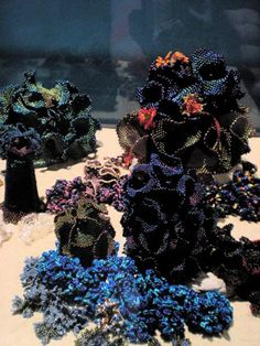 The Institute for Figuring - Coral Reef - Beadwork and Crochet WOW!