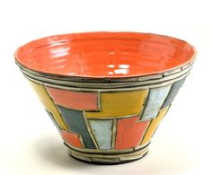 Large Bowl: Boyan Moskov: Ceramic Bowl - Artful Home