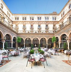 Dining experience in Seville