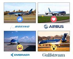 Your favourite? ;) Boeing | Airbus | Embraer | Gulfstream https://www.cargotopakistan.co.uk/blog/sending-cargo-to-pakistan-know-custom-duties-taxes/