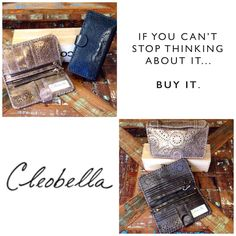 New! #perle #sonoma #cleobella #shopping #want #love #buy #shoplocal #wallet #accessory