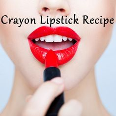 Must try this!!! Fun, safe way to make your own lipstick!! Click the image to watch the video instructions!!