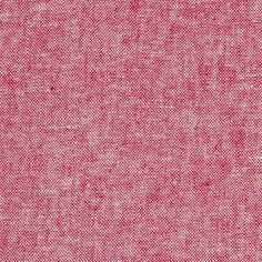 Kaufman Essex Yarn Dyed Linen Blend Red from @fabricdotcom  From Robert Kaufman Fabrics, this lightweight (5.6 oz. per square yard) linen blend fabric has a luxurious hand with a full-bodied drape. Perfect for fine linens, heirloom projects, blouses, shirts, fuller skirts & dresses, and light jackets. It features cross threads of black and white. Machine wash gentle and dry on low for softness or dry clean to maintain original texture.