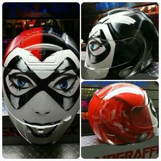 Custom Airbrushed Motorcycle Helmet by Airgraffix.com 165