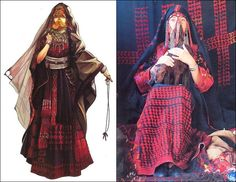 COSTUME PLANET: Traditional Clothes of Bedouin People