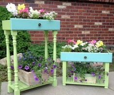 s 13 planter ideas that blow all other planters out of the water, container gardening, gardening, repurposing upcycling