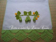 Abobrinha em crochê 3D- blog feito a mão by Lucia Costa