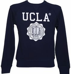 70eab7d39 UCLA Clothing Mens Navy Lauther Crest Sweater from UCLA Since 1919, the  University of California