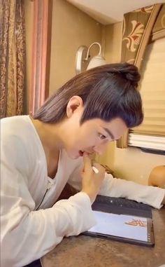 """lana on Twitter: """"Xiao Zhan as Shi Ying Off Cam On Cam… """""""