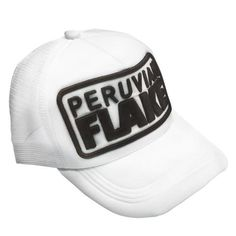Peruvian Flake Trucker Hat Gorras f7888bc3e79