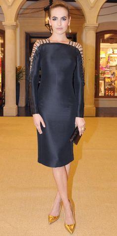 Camilla Belle in Ralph Lauren Collection