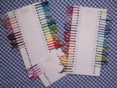 Haakmuts: kleurenkaart