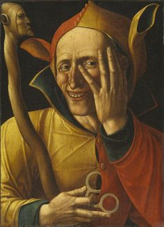 The Laughing Jester (Netherlands, fifteenth century). National Art Museum of Sweden, Stockholm, NM6783.