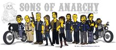 Sons Of Anarchy cast Art Print by Adrien ADN Noterdaem Sons Of Anarchy Cast, Soa Cast, Sons Of Anachy, Sons Of Anarchy Motorcycles, Cast Art, Affirmations For Women, Alternative Movie Posters, Charlie Hunnam, Artists