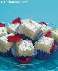 Kalakhand is a wonderful dessert and loved by all, since it is not oversweet like other mithai. It can be made very easily using the microwave, but remember, it tastes best within 5-6 hours.