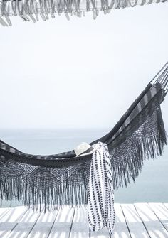 What a stylish hammock! Looks so relaxing! x What a stylish hammock! Looks so relaxing! Summer Vibes, Summer Feeling, Summer Breeze, Summer Days, Ibiza, Relax, Hammock Swing, Hammock Ideas, Am Meer