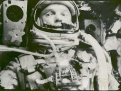 """October 29, 1998 – At age 77, John Glenn becomes the oldest man to travel to space on """"Friendship 7""""."""