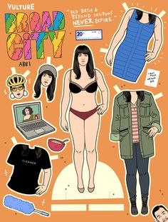 Print Out Our Broad City Paper Dolls -- Vulture