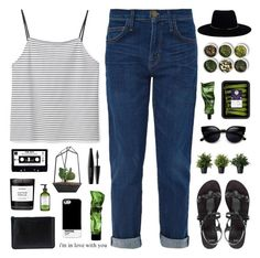 """""""its so sad to think about the good times"""" by pure-and-valuable ❤ liked on Polyvore featuring Current/Elliott, ASOS, ZeroUV, Tea Collection, Comme des Garçons, MAKE UP FOR EVER, Zimmermann, Byredo and Perricone MD"""