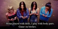 Pretty Little Liars...Love, but the books are so much better!