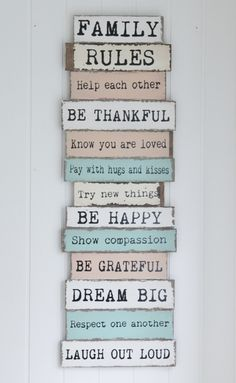 This would be cute hanging up in our house