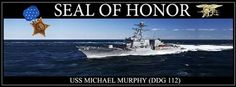 What A Grand Honor For LT Michael Murphy, Navy Seal, MOH recipient.  He probably is smiling from the Heavens!