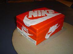 nike box birthday cake - Google Search