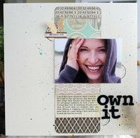 A Project by Christine Drumheller from our Scrapbooking Gallery originally submitted 03/14/10 at 01:31 PM