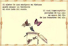 Efecto mariposa...