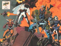 x-Force by Mike Mignola