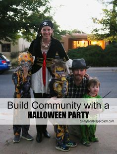 My Landscape Coach – Unearthing your yard's potential. Build community with a Halloween Party Community Building, Outdoor Spaces, Halloween Party, Yard, Landscape, Learning, Outdoor Living Spaces, Patio, Yards