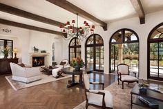 Black Window, Beach House, Dream Home, Window Trim, Mediterranean ...
