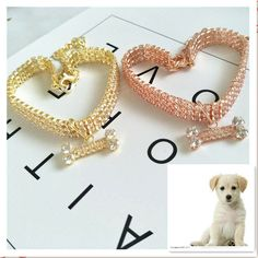 Pet Collars, Bone Jewelry, Beaded Bracelets, Pet Fashion, Cute Necklace, Medium Dogs, Types Of Collars, Dog Supplies, Pets