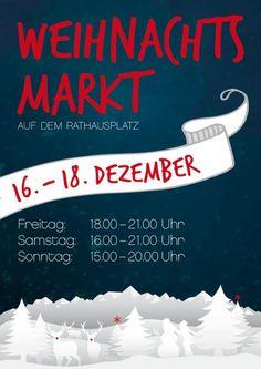Weihnachtsmarkt auf dem Rathausplatz
