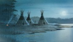 lakota images | lakota moon lakota moon 14 inches by 8 inches copyright jerry raedeke ...