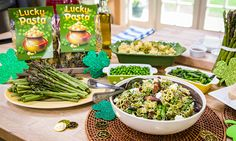 "Lucky Pesto Pasta @Cristina Ferrare  #recipes #pasta #pesto #cooking #HomeandFamily  Home & Family - Recipes - Cristina Cooks: ""Lucky"" Pesto Pasta 