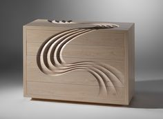 THE VOTES ARE IN! WINNER of the 'People's Prize Award 2013' is Martin Gallagher! Martin Gallagher has been awarded the People's Prize for 'Cascade' his stunning handcarved chest of drawers. His piece received most votes from the public during our annual exhibition this year.
