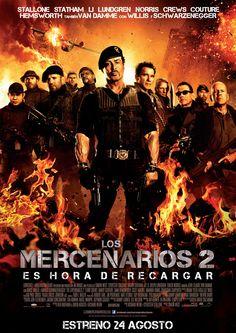 Los más duros de nuevo juntos  http://www.sensacine.com/peliculas/pelicula-186189/  #SensaCine #LosMercenarios2 #SilvesterStallone