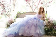 27 Princess-Worthy Wedding Dresses Featuring Pastel Color Combinations!