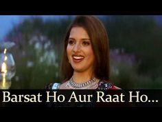 Barsat Ho Aur Raat Ho - Dil Pardesi Ho Gaya - Udit Narayan - Alka Yagnik - YouTube