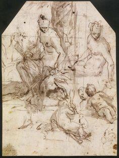 Paolo Veronese, Studio per Marte e Venere, © #Verona #aspettandoveronese #mostraveronese