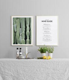 Inspiration till tavelväggar och tavelcollage | Hänga tavlor