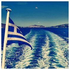 Sailing the Aegean Sea...