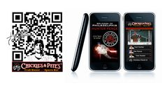 Chickie and Pete's Hunter Pence Mobile Website.
