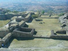 Monte Alban Ruins, Oaxaca
