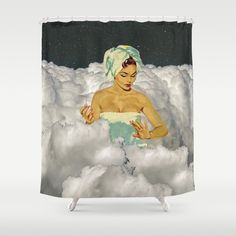 Shower Curtains, Self Care, Clouds, Painting, Art, Art Background, Painting Art, Kunst, Paintings