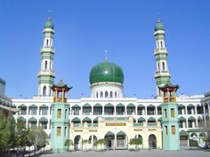 Masjid katedral moskow rusia beautiful mosques around the world dongguan mosque xining china altavistaventures Image collections
