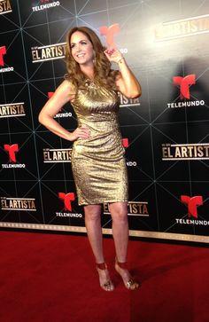 Lucero en el día de prensa de Yo Soy El Artista - Estilista Irma Martinez #YSEA #Lucero #ElArtista