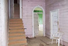<b>Before:</b> Staircase  - CountryLiving.com